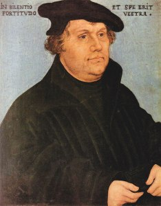 martin-luther-1532 Wikimedia Commons